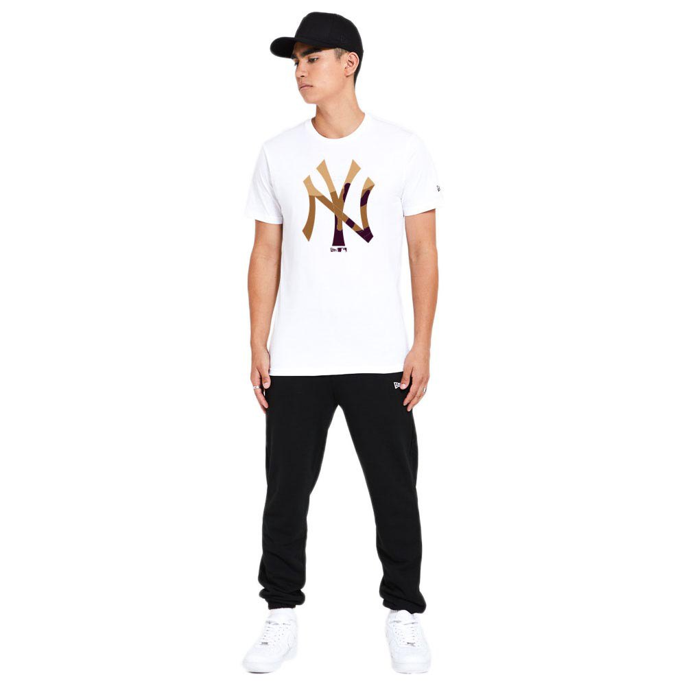 New Era Mlb Ext. Camo Infill New York Yankees S White