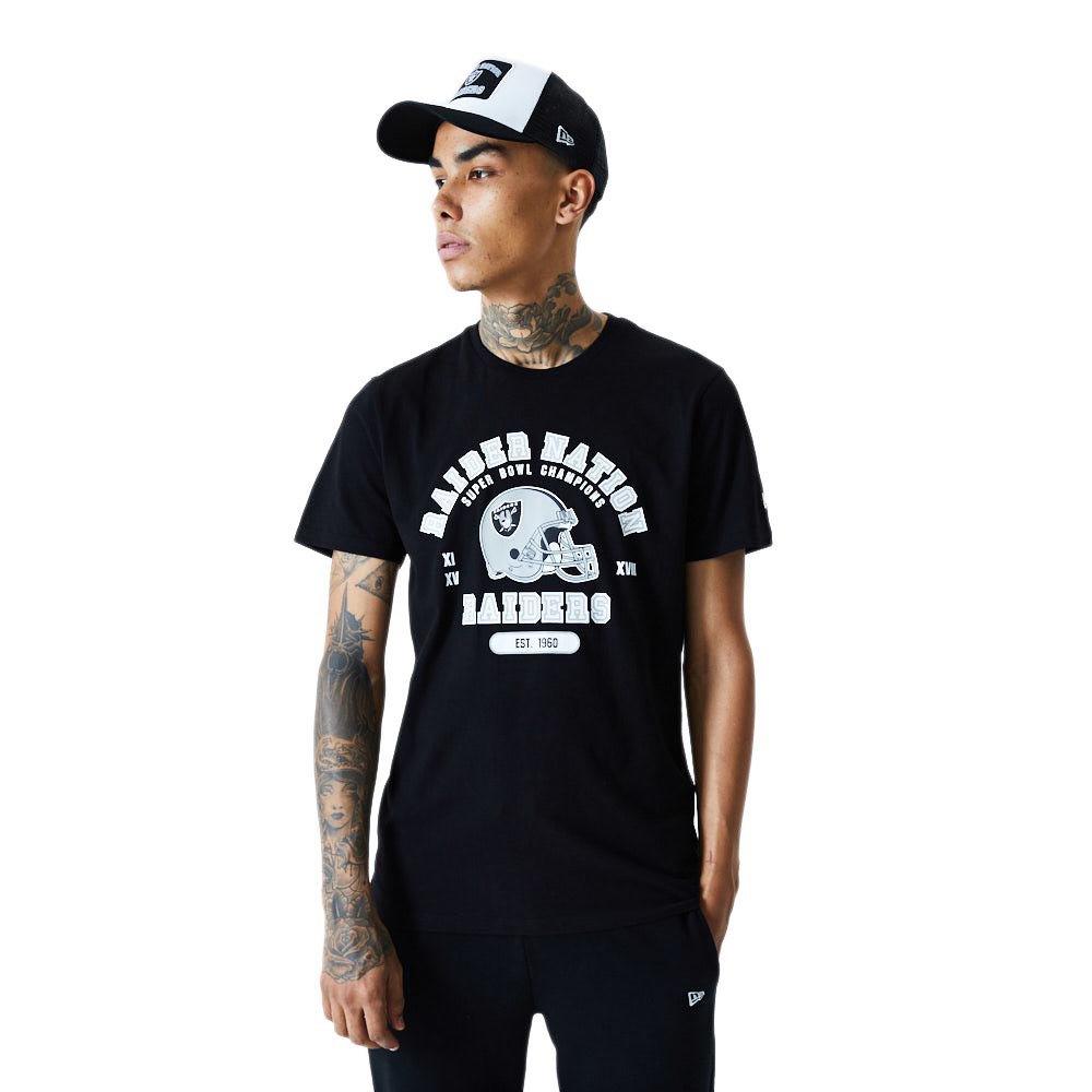 New Era Nfl Helmet And Wordmark Oakland Raiders L Black