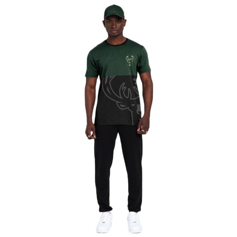 New Era Nba Large Otl Milwaukee Bucks S Dark Green