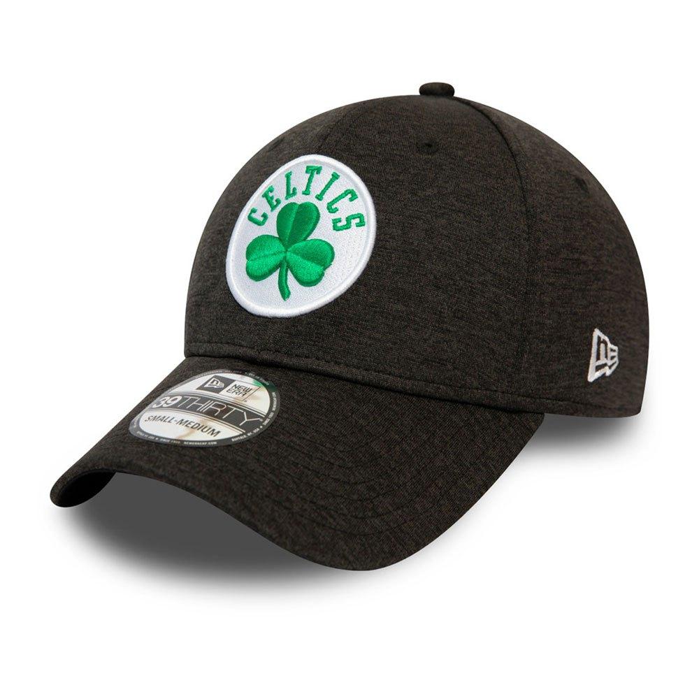 New Era Black Base Team Pop 39thirty Boston Celtics S-M Black