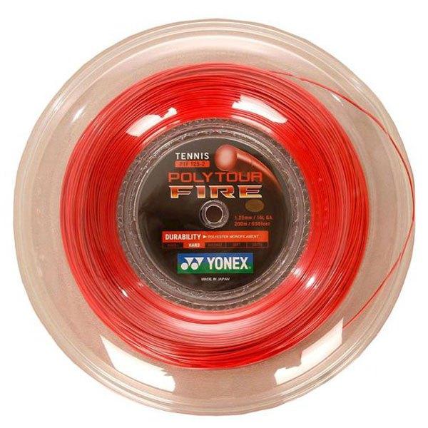 Yonex Polytour Fire 200 M 1.25 mm Red