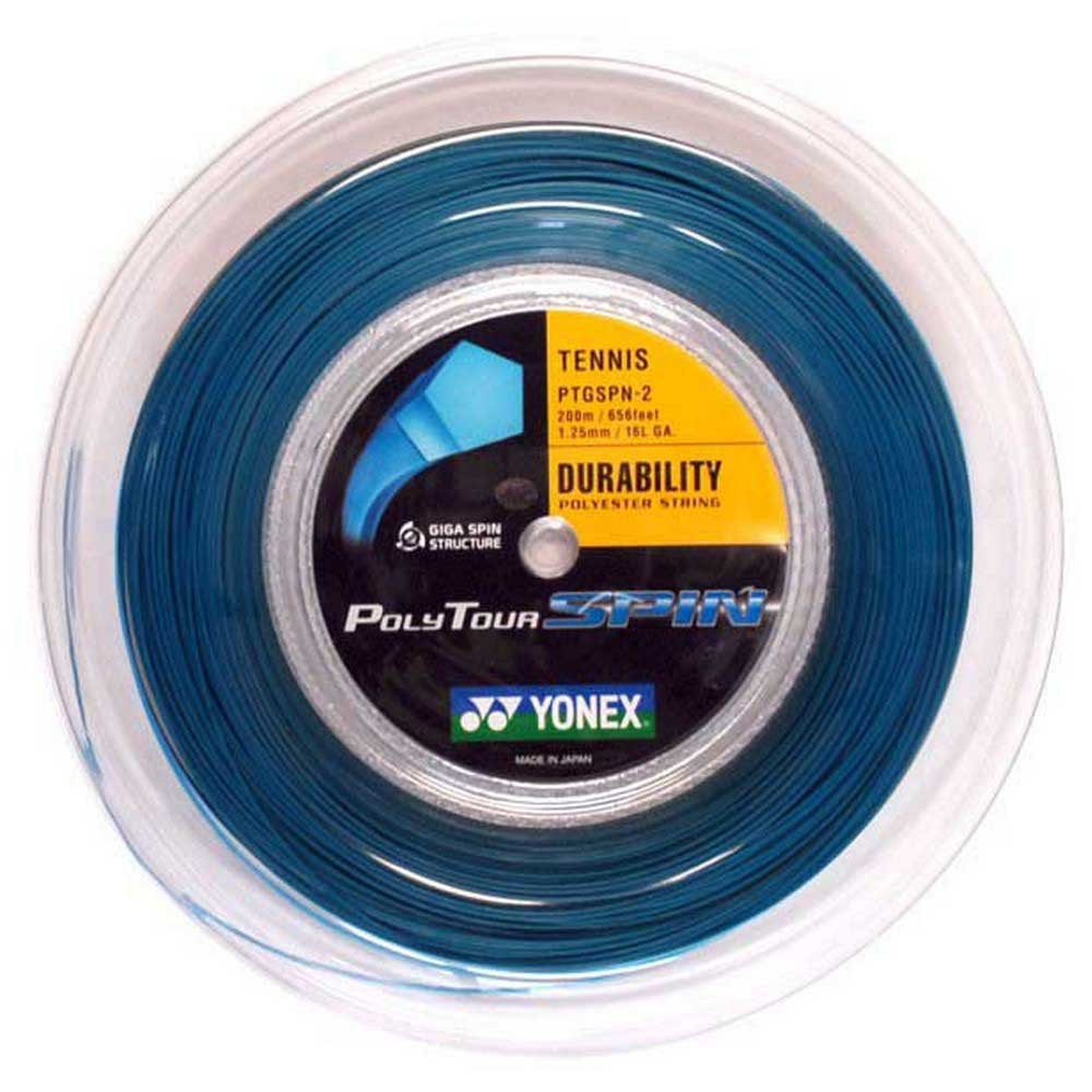 Yonex Polyour Spin 200 M 1.25 mm Blue
