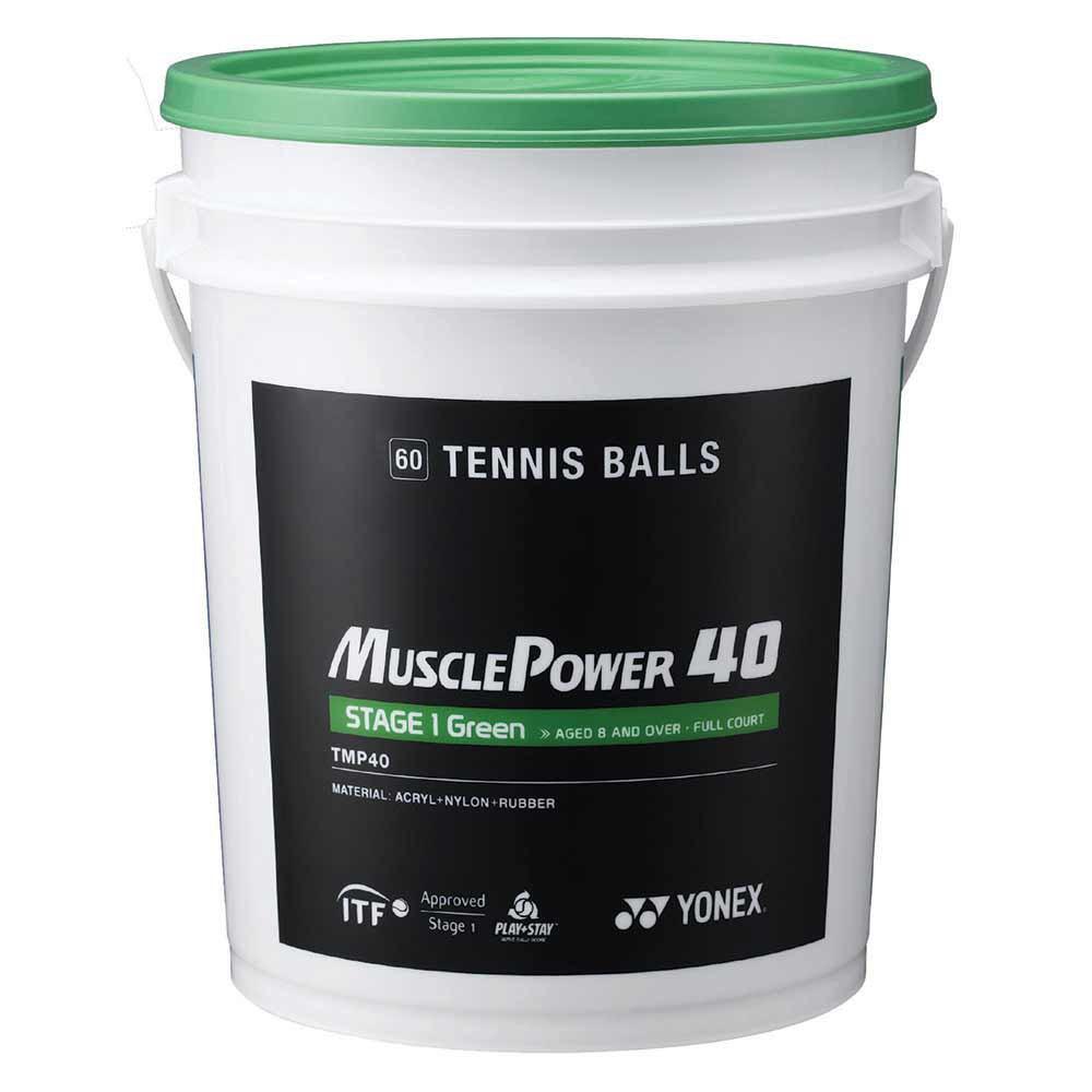 Yonex Muscle Power 40 60 Balls Green