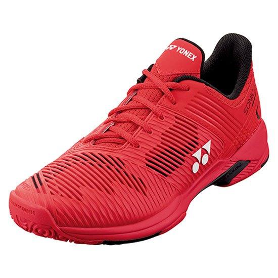 Yonex Sonicage 2 Clay EU 46 Red