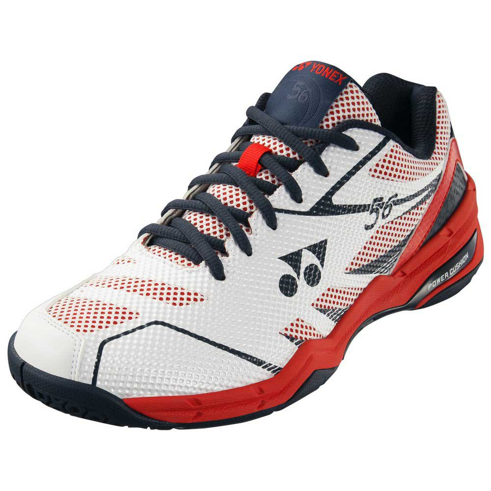 Yonex Power Cushion 56 Hard Court EU 36 White / Red