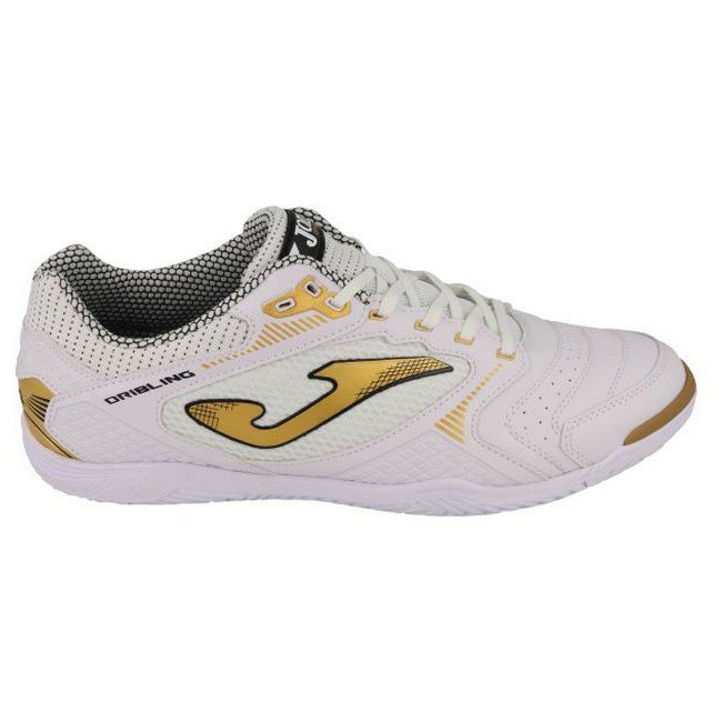 Joma Chaussures Football Salle Dribling Ic EU 43 White / Gold
