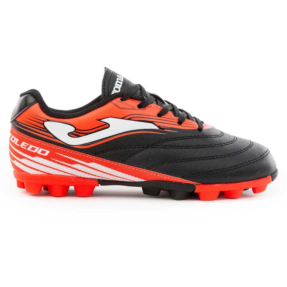 Joma Chaussures Football Toledo Fg EU 32 Black / Coral