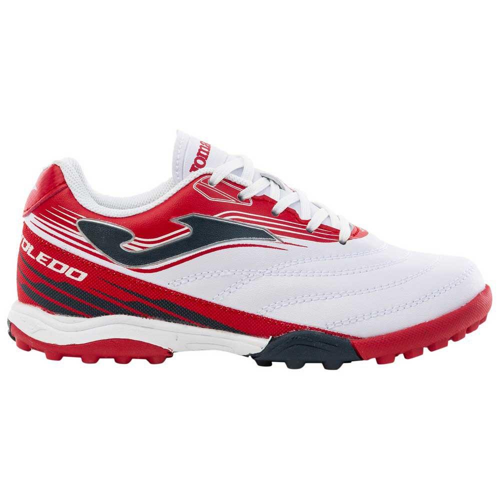 Joma Chaussures Football Toledo Tf EU 35 White / Red