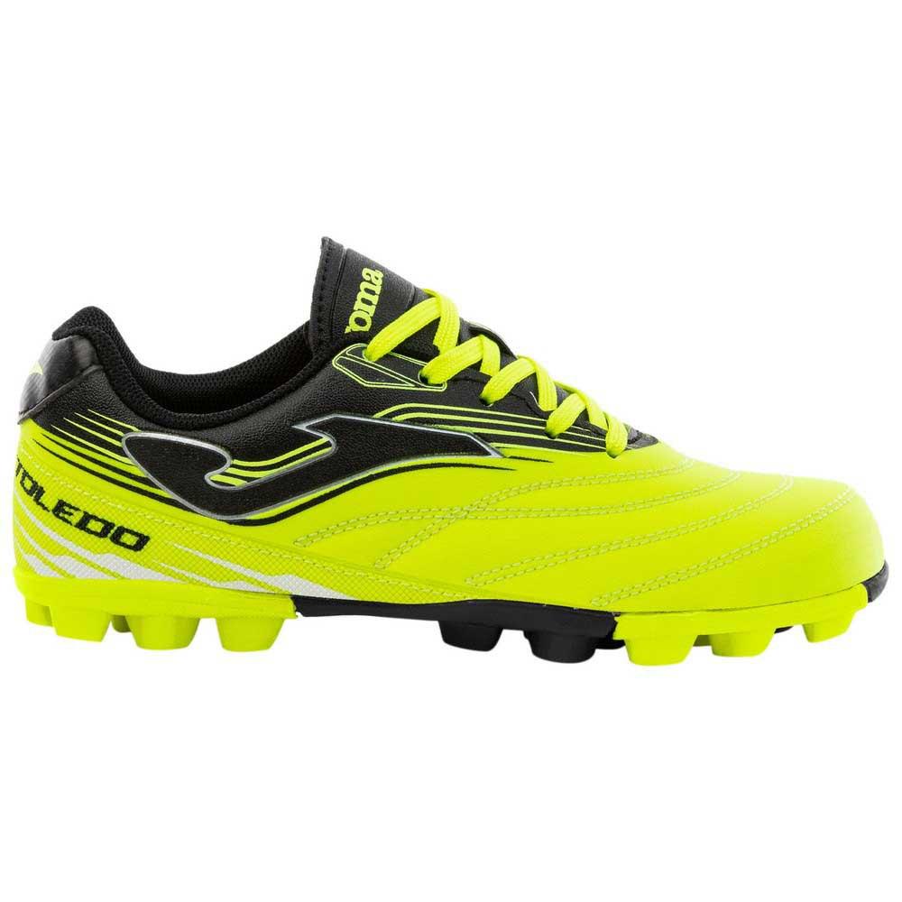 Joma Chaussures Football Toledo Fg EU 28 Lemon / Black