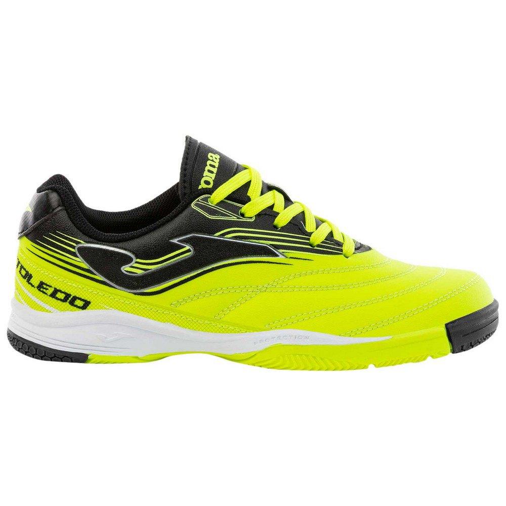 Joma Chaussures Football Salle Toledo Ic EU 24 Lemon / Black
