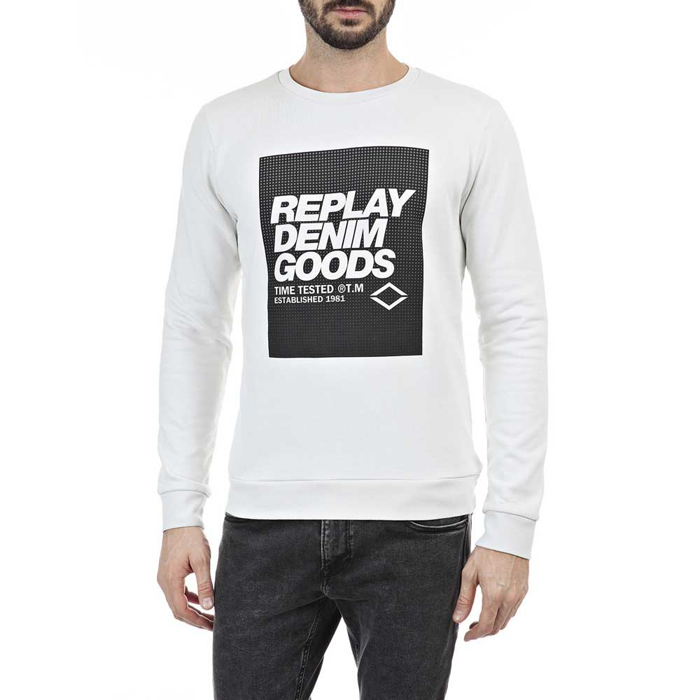 Replay M3218 Sweatshirt M Ice