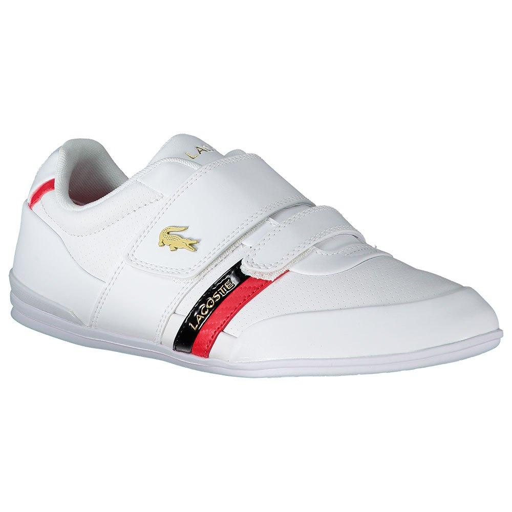 Lacoste Misano Strap EU 44 White / Red