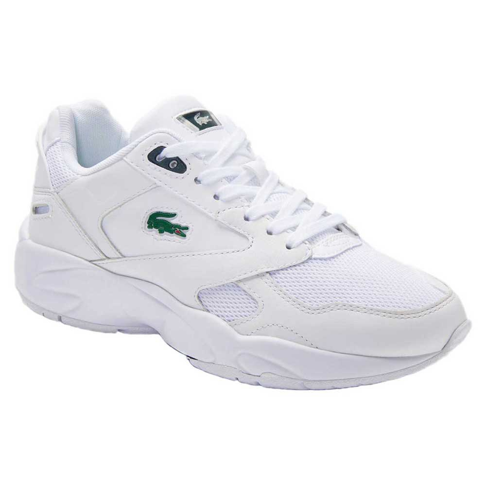 Lacoste Storm 96 Textile Leather EU 36 White / Dark Green