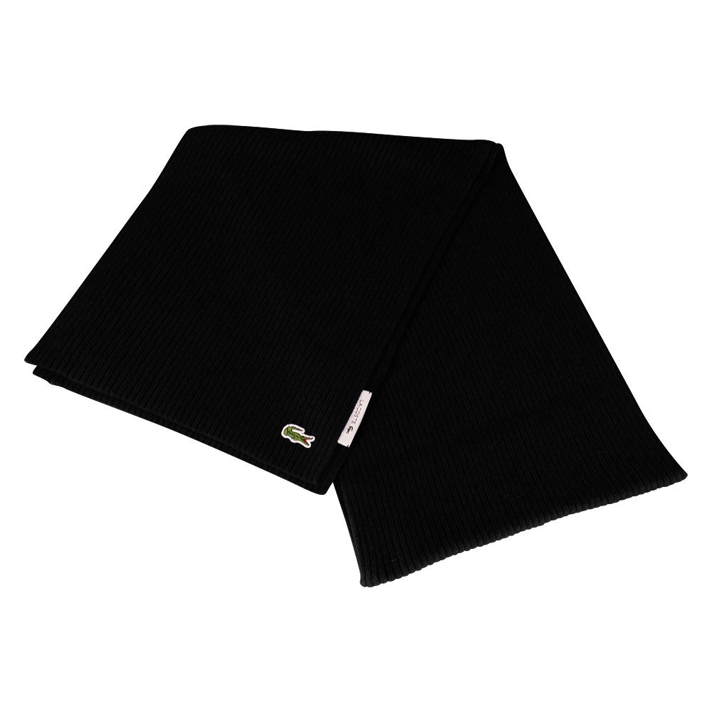 Lacoste Re2217 Wool Rectangular One Size Black