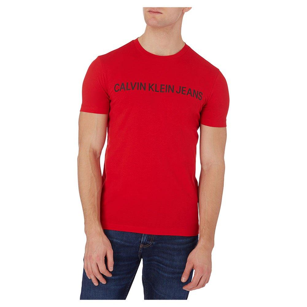 Calvin Klein Jeans Institutional Logo Slim M Red Hot