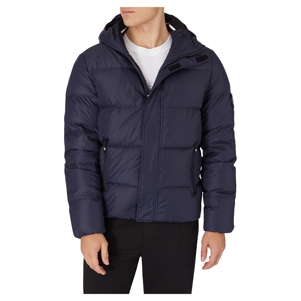 Calvin Klein Jeans Hooded Down Puffer L Night Sky