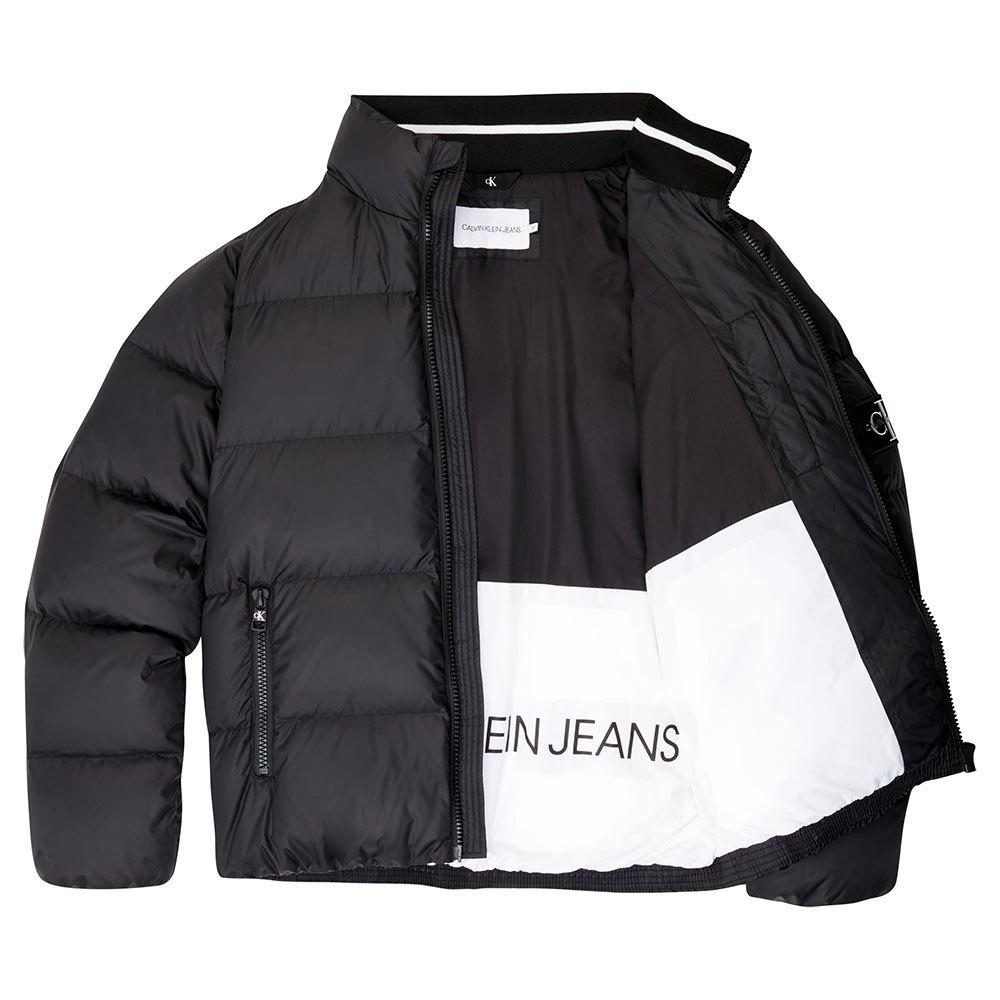 Calvin Klein Jeans Down Puffer XL Ck Black