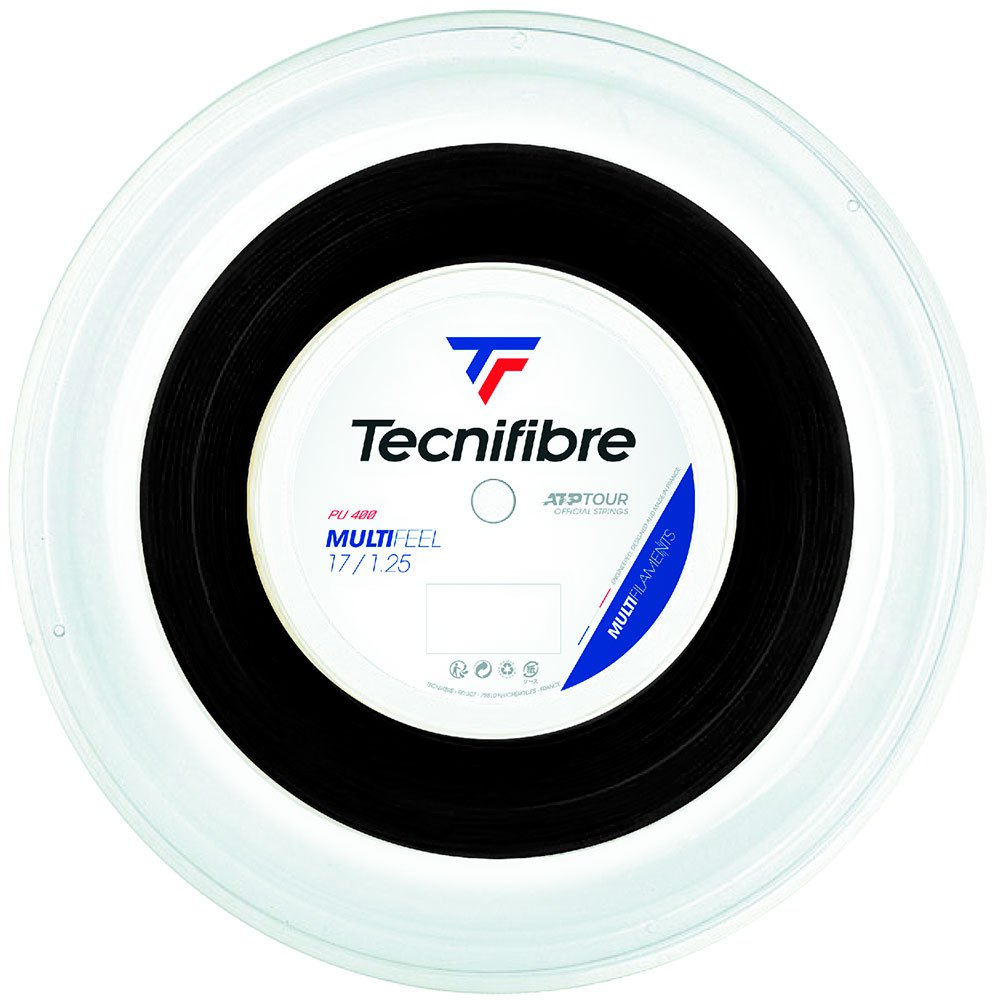 Tecnifibre Multifeel 200 M 1.25 mm Black