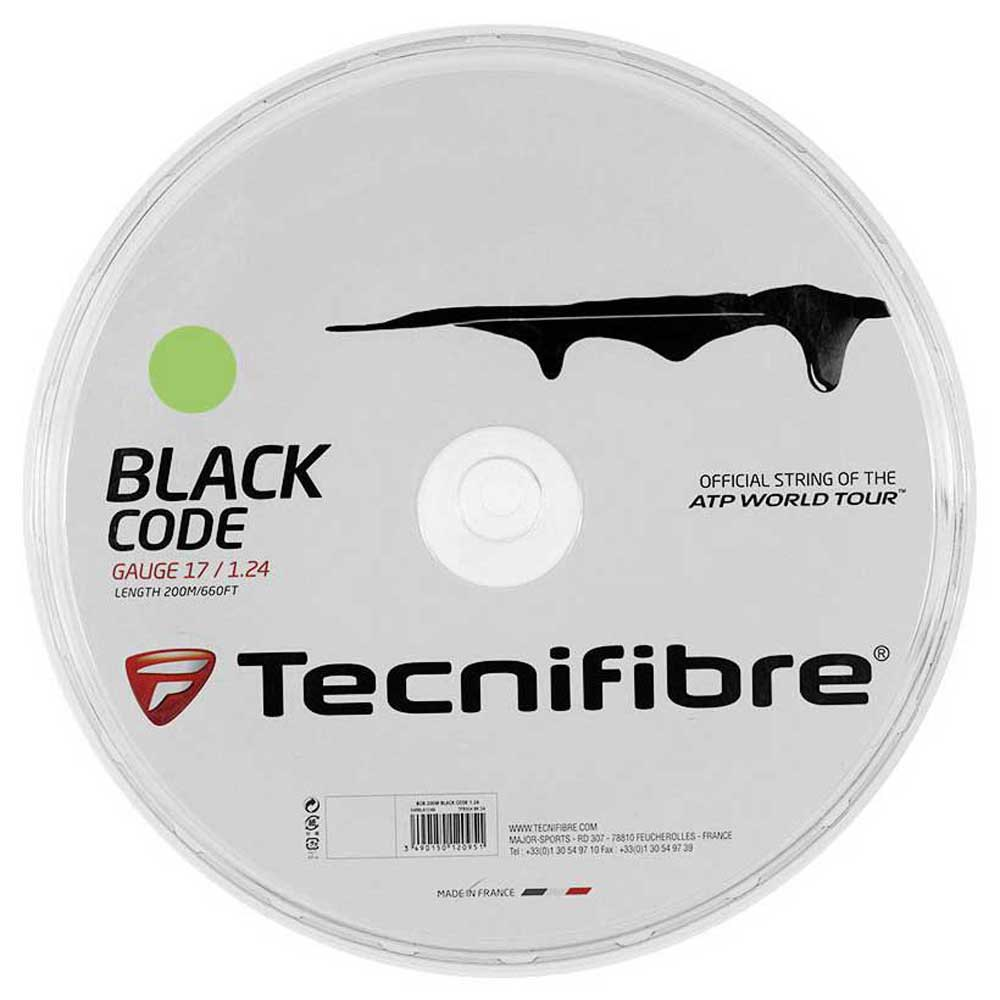 Tecnifibre Black Code 200 M 1.24 mm Lime
