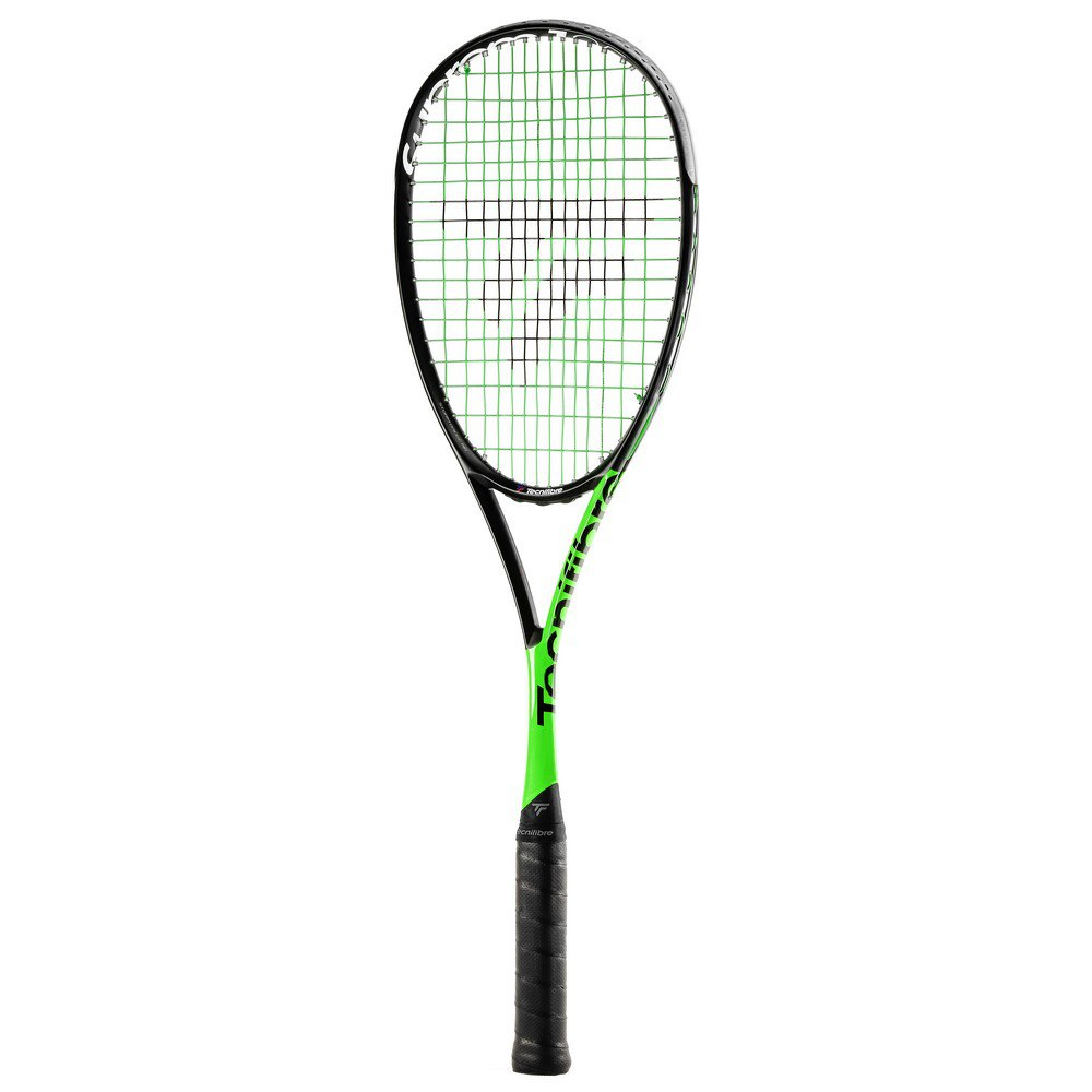 Tecnifibre Suprem 125 Curv Squash Racket One Size White / Green / Black