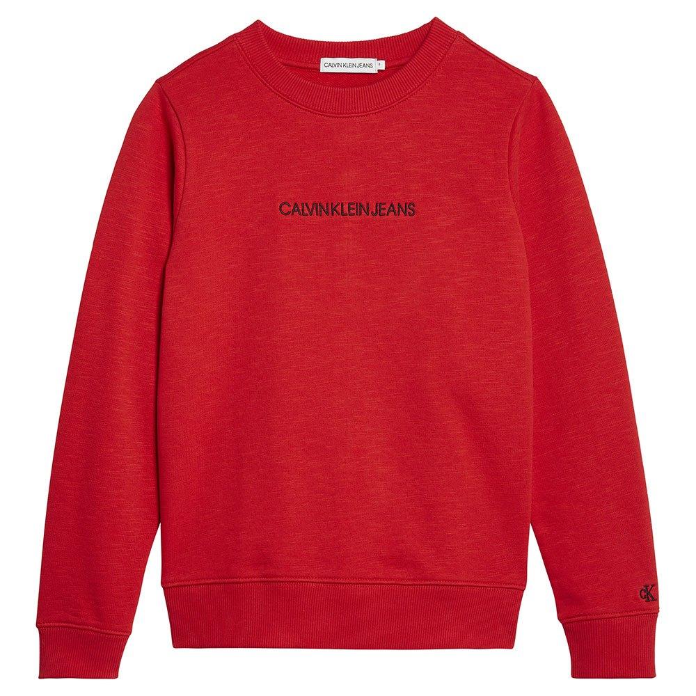 Calvin Klein Jeans Ib0ib00547 Heavyweight Knits 12 Years Fierce Red