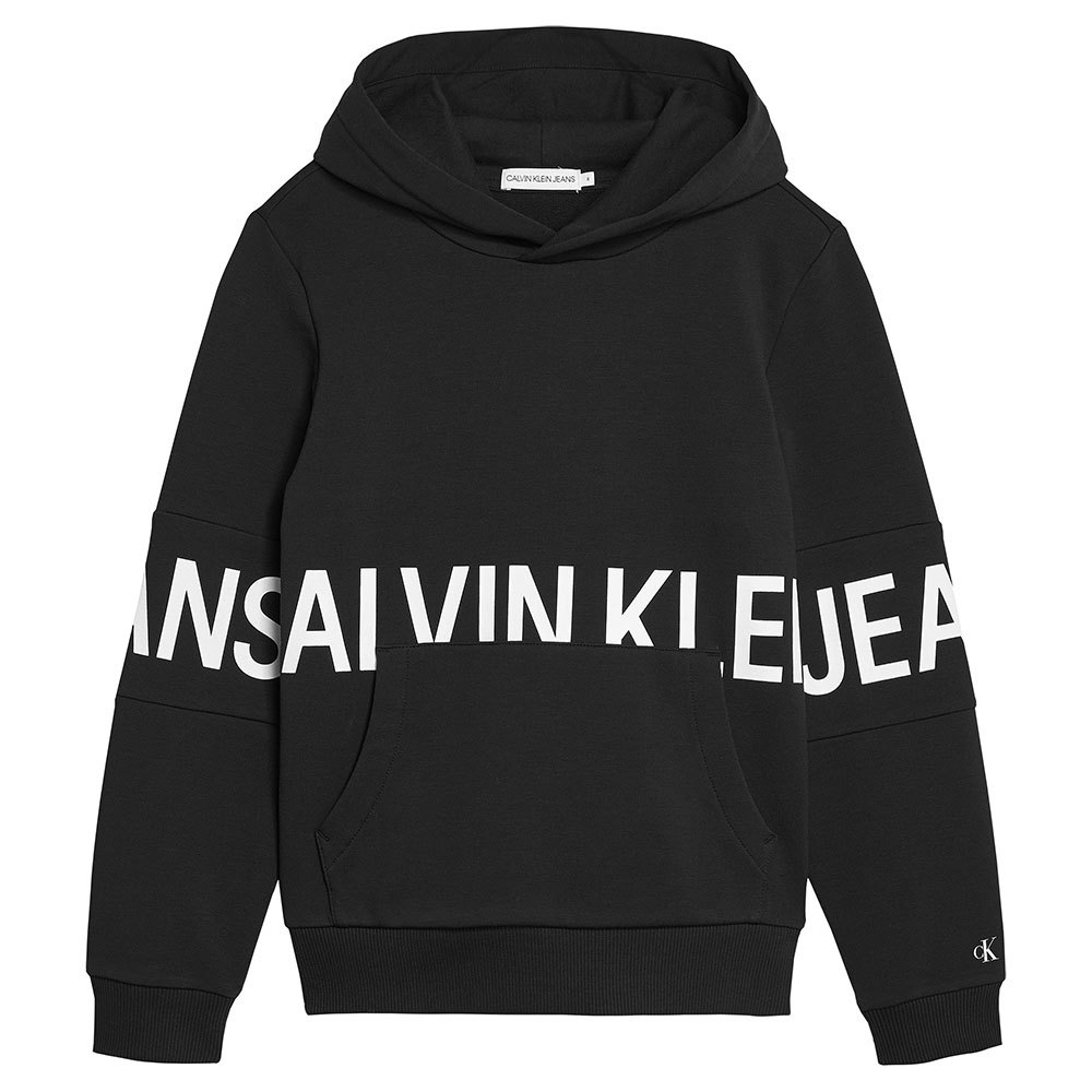 Calvin Klein Jeans Ib0ib00758 Heavyweight Knits 16 Years Ck Black