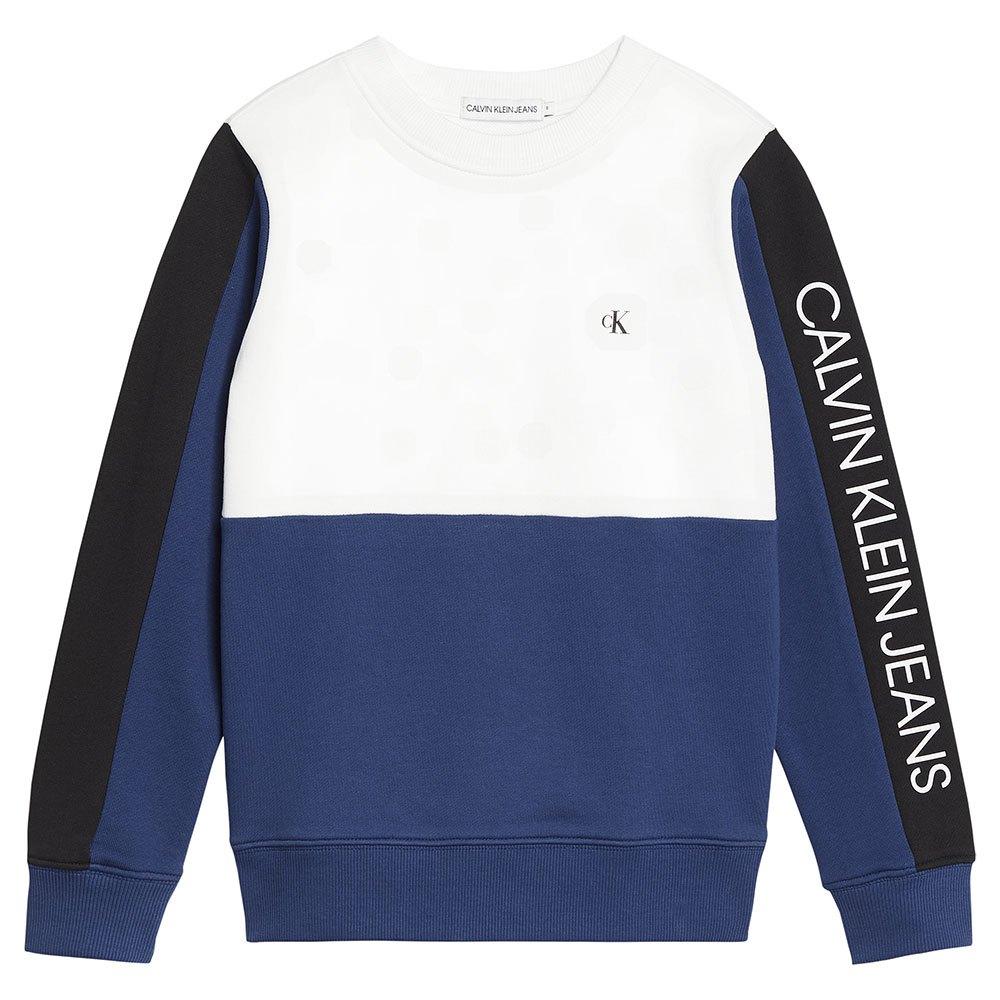Calvin Klein Jeans Ib0ib00636 Heavyweight Knits 14 Years Naval Blue