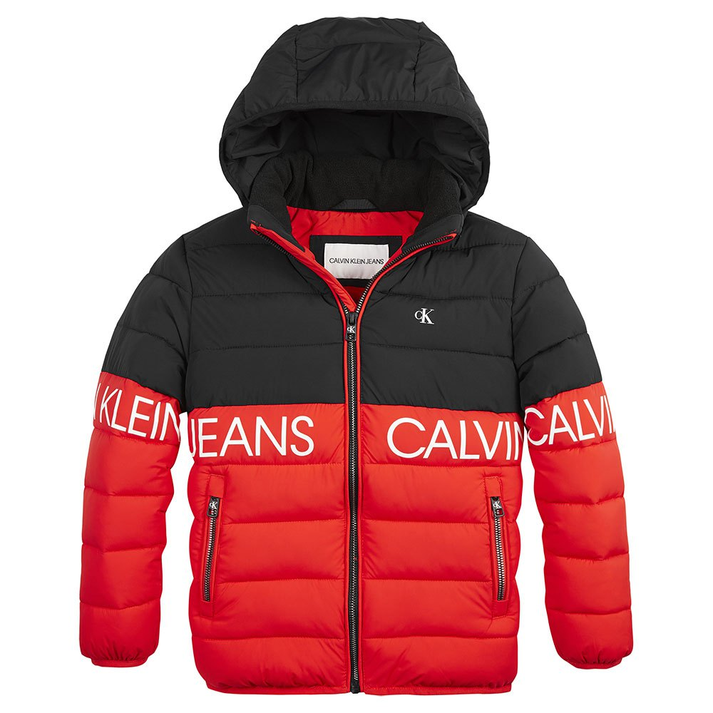 Calvin Klein Jeans Ib0ib00653 Outerwear 14 Years Fierce Red