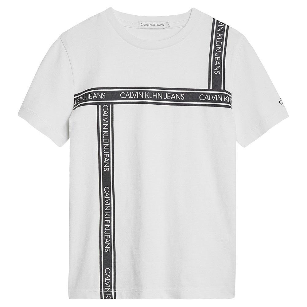 Calvin Klein Jeans Ib0ib00609 T-shirts 10 Years Bright White