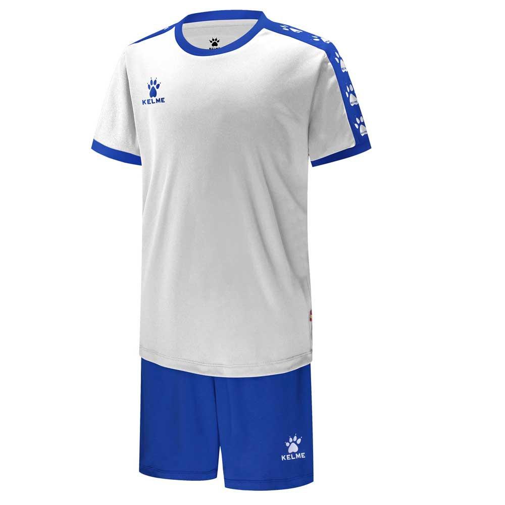 Kelme College 120 cm White / Royal Blue