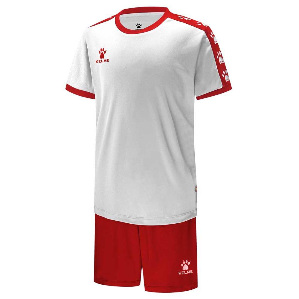 Kelme College 120 cm White / Red