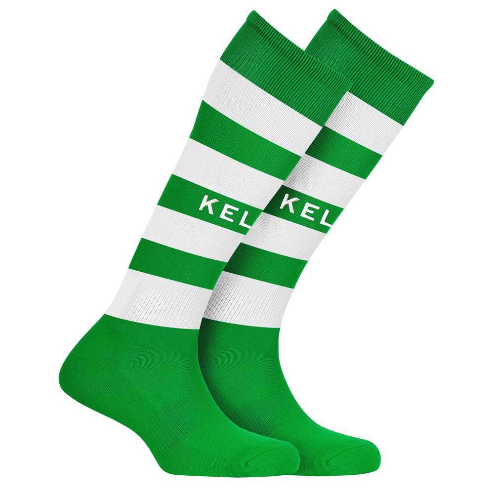 Kelme Chaussettes Gol EU 35-37 Green / White