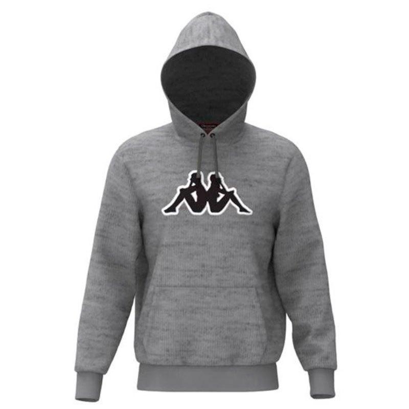 Kappa Airiti Logo XL Grey Md Black