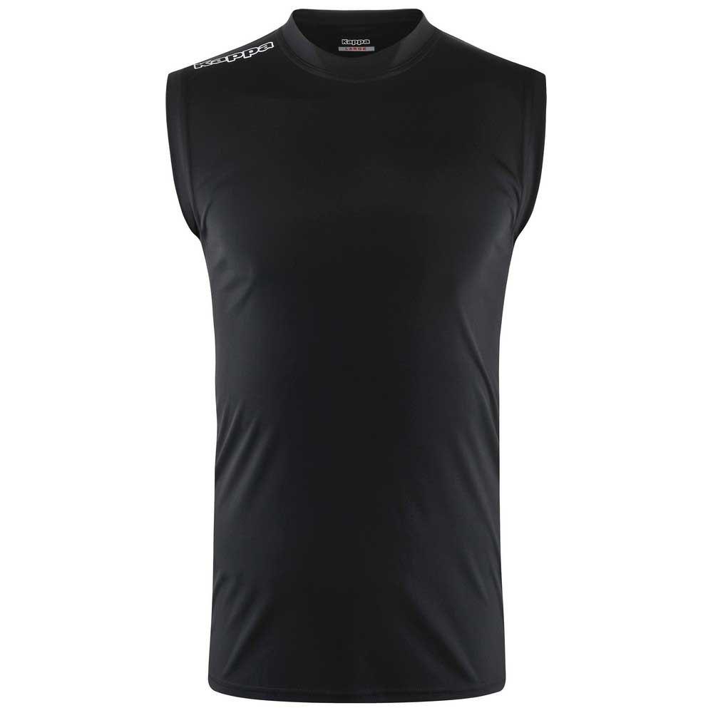 Kappa T-shirt Manche Courte Aston XXL Black