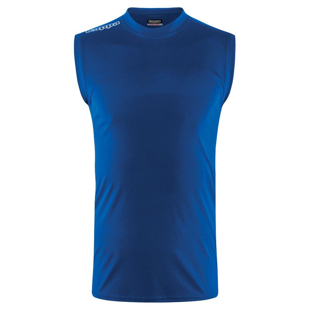 Kappa T-shirt Sans Manches Aston 10 Years Blue Royal