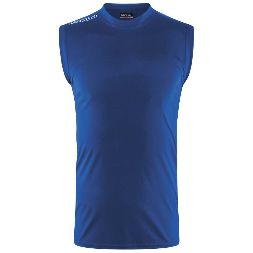 Kappa T-shirt Manche Courte Aston XXL Blue Royal
