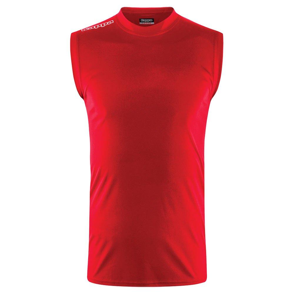 Kappa T-shirt Sans Manches Aston 10 Years Red