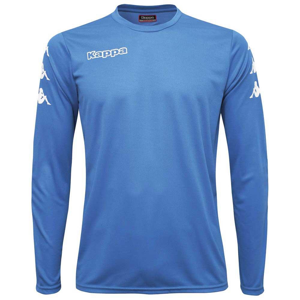 Kappa Goalkeeper T-shirt Manche Longue 10 Years Blue Fluorescent