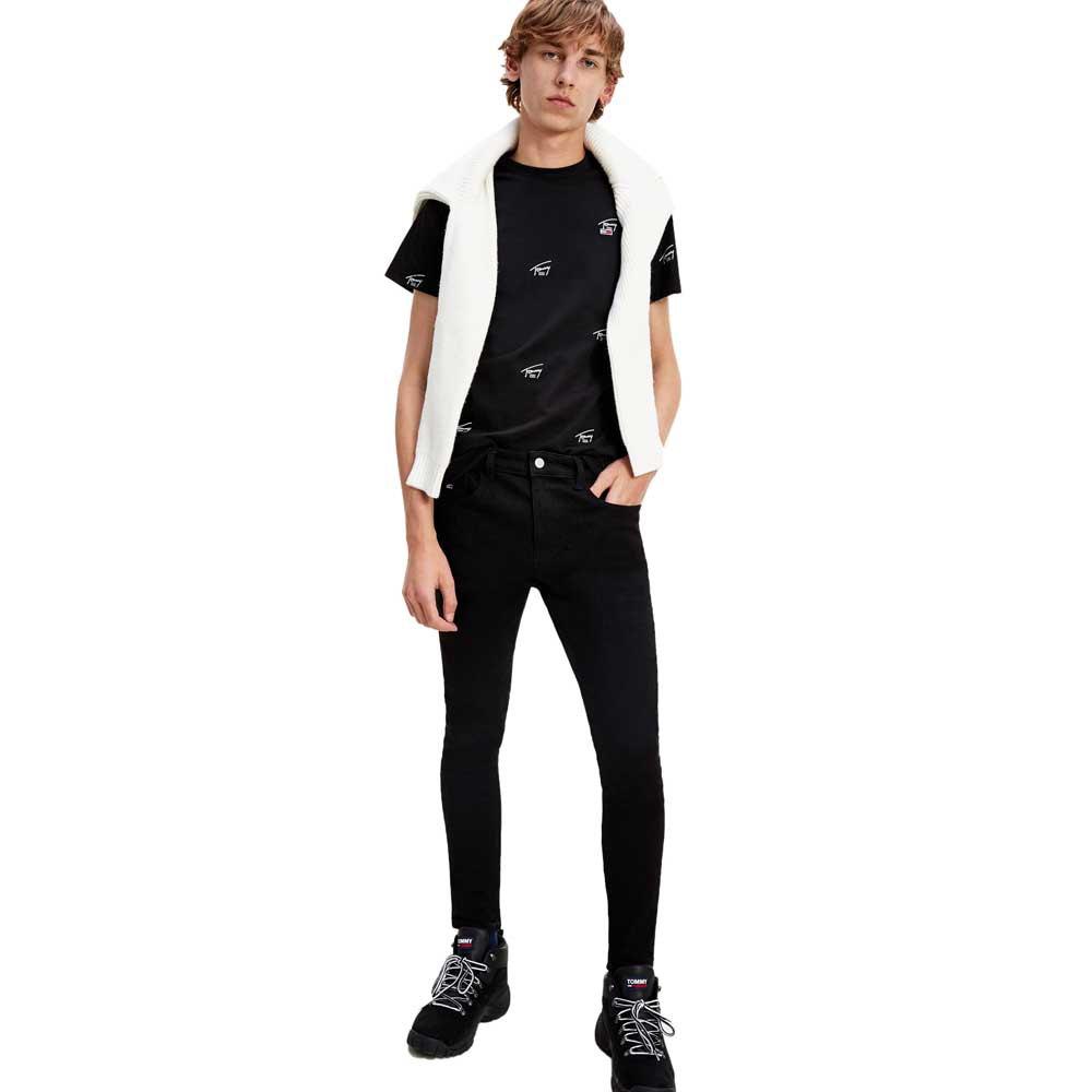 Tommy Jeans Super Skinny 30 Malmo Black Str