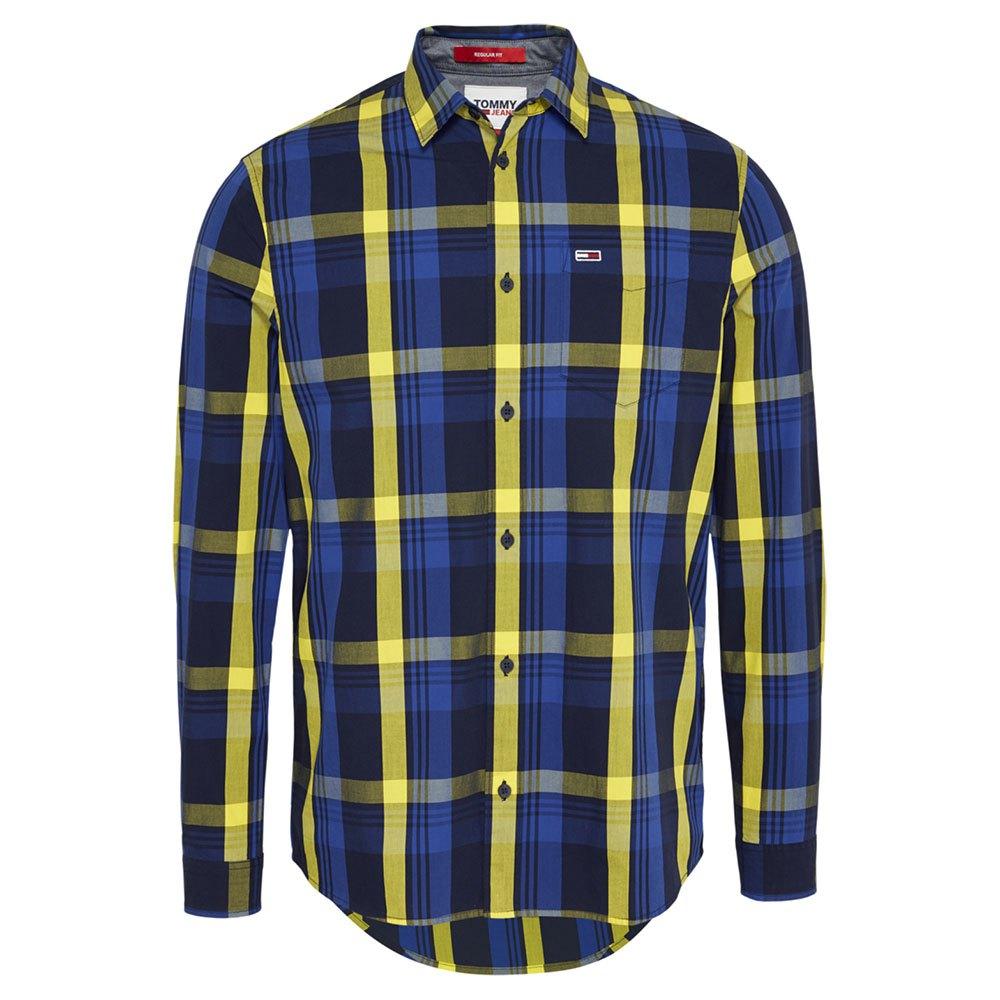 Tommy Jeans Multicheck M Providence Blue / Multi