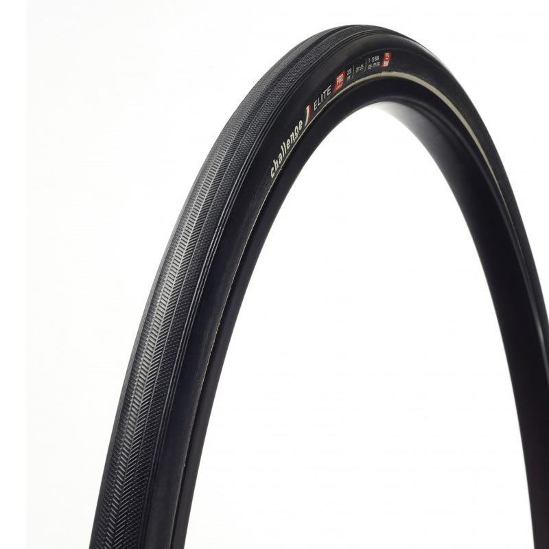 Challenge Copertone Strada Elite Pro Tubular 700 x 23C Black
