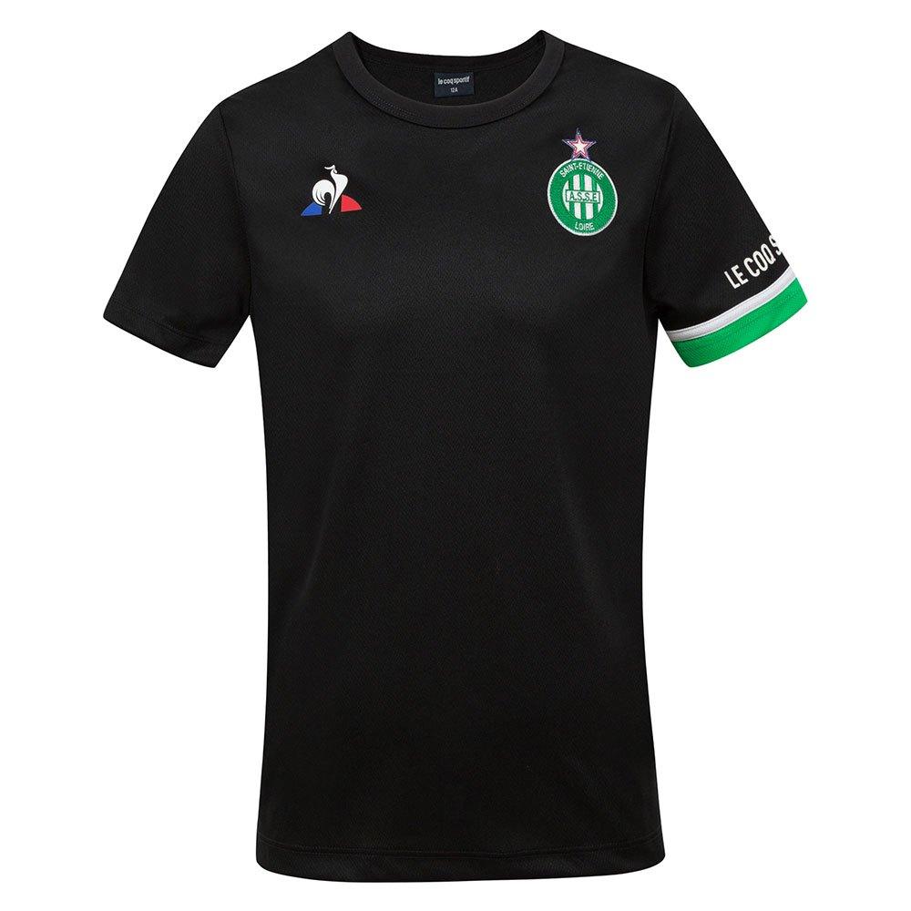 Le Coq Sportif T-shirt As Saint Etienne Entraînement 20/21 Junior 4 Years Black