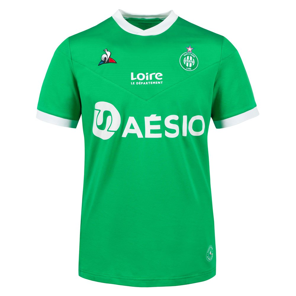 Le Coq Sportif T-shirt As Saint Etienne Domicile Replica 20/21 L St Etienne