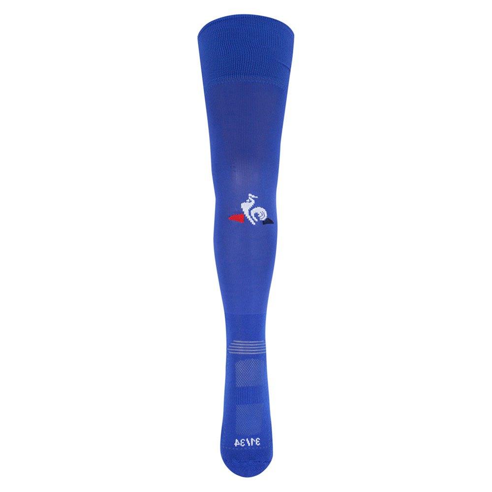 Le Coq Sportif Chaussettes Estac Troyes Domicile Replica 20/21 Junior EU 31-34 Bleu Camuset