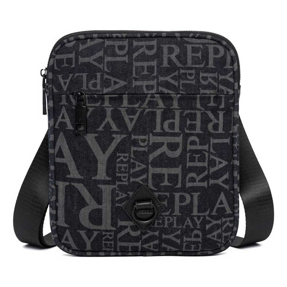 Replay Fm3473 Bag One Size Washed Black