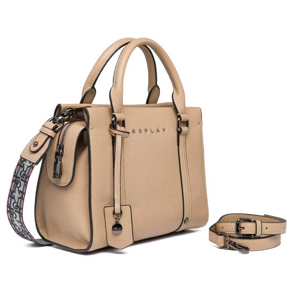 Replay Fw3022 Bag One Size Dirty Beige