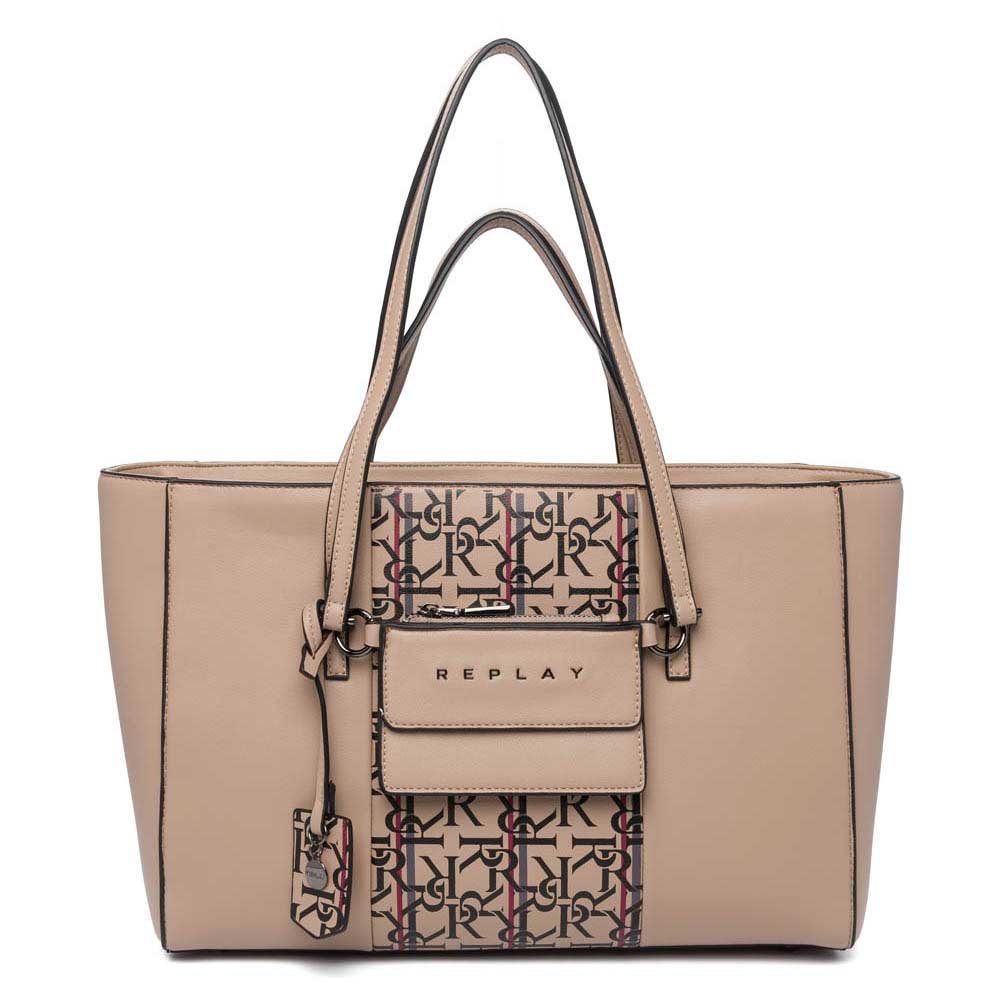 Replay Fw3062 Bag One Size Dirty Beige
