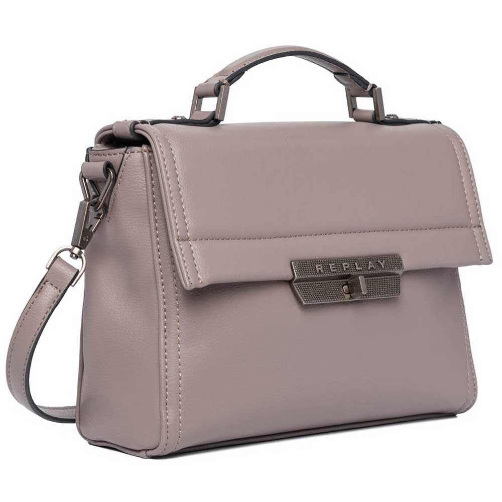 Replay Fw3861 Bag One Size Grey Rose