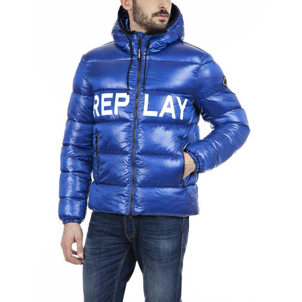 Replay M8091 Jacket XL Electric Blue