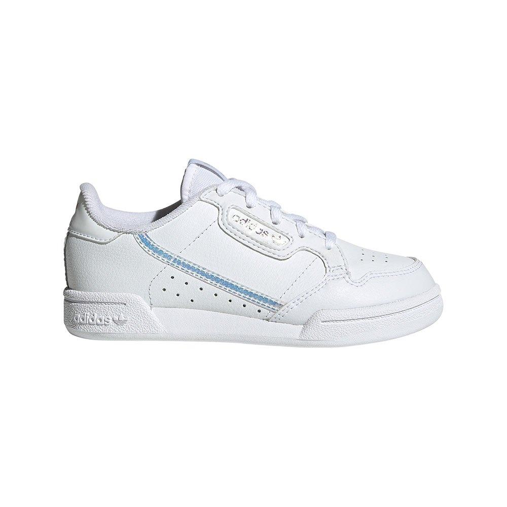 Adidas Originals Continental 80 Children EU 33 Footwear White / Footwear White / Core Black